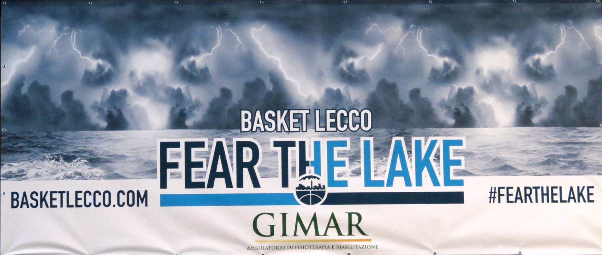 Basket Lecco fear the lake