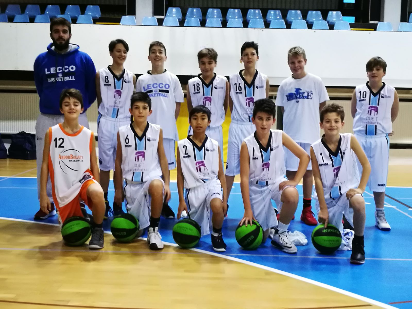 Under 13 Basket Lecco