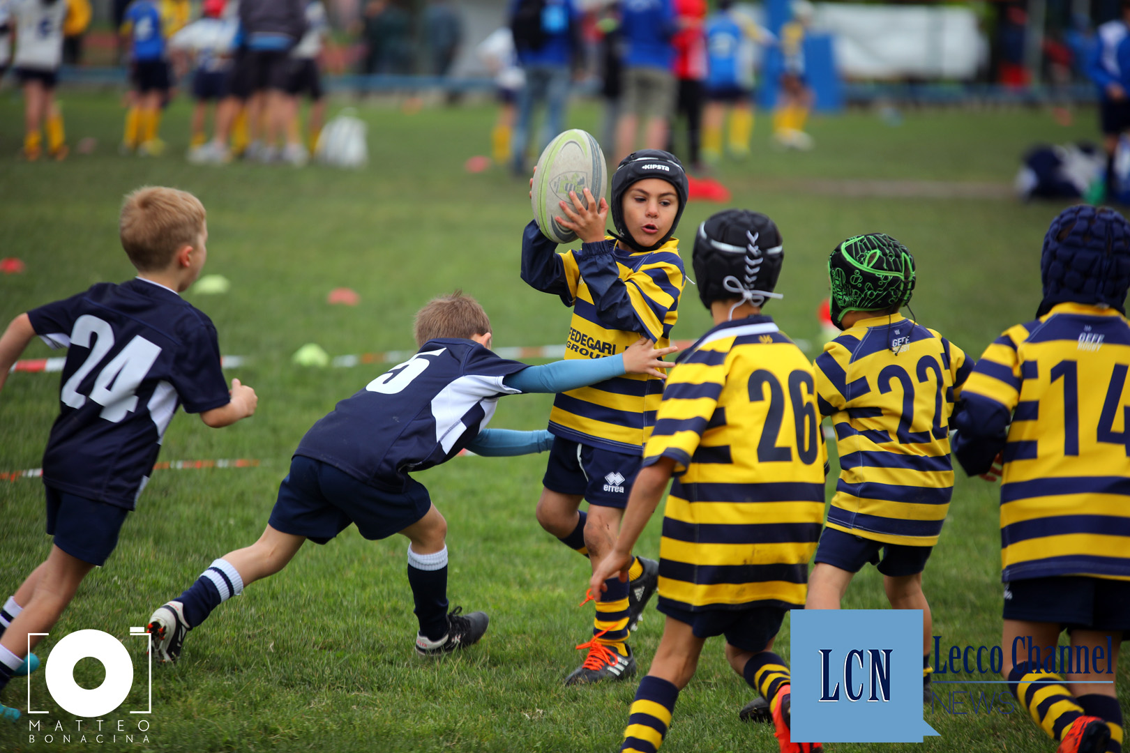 Rugby Lecco Torneo Internazionale 2018 Under 6 Cus Pavia (4)