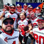 I Commandos portano il football americano in Piazza Garibaldi