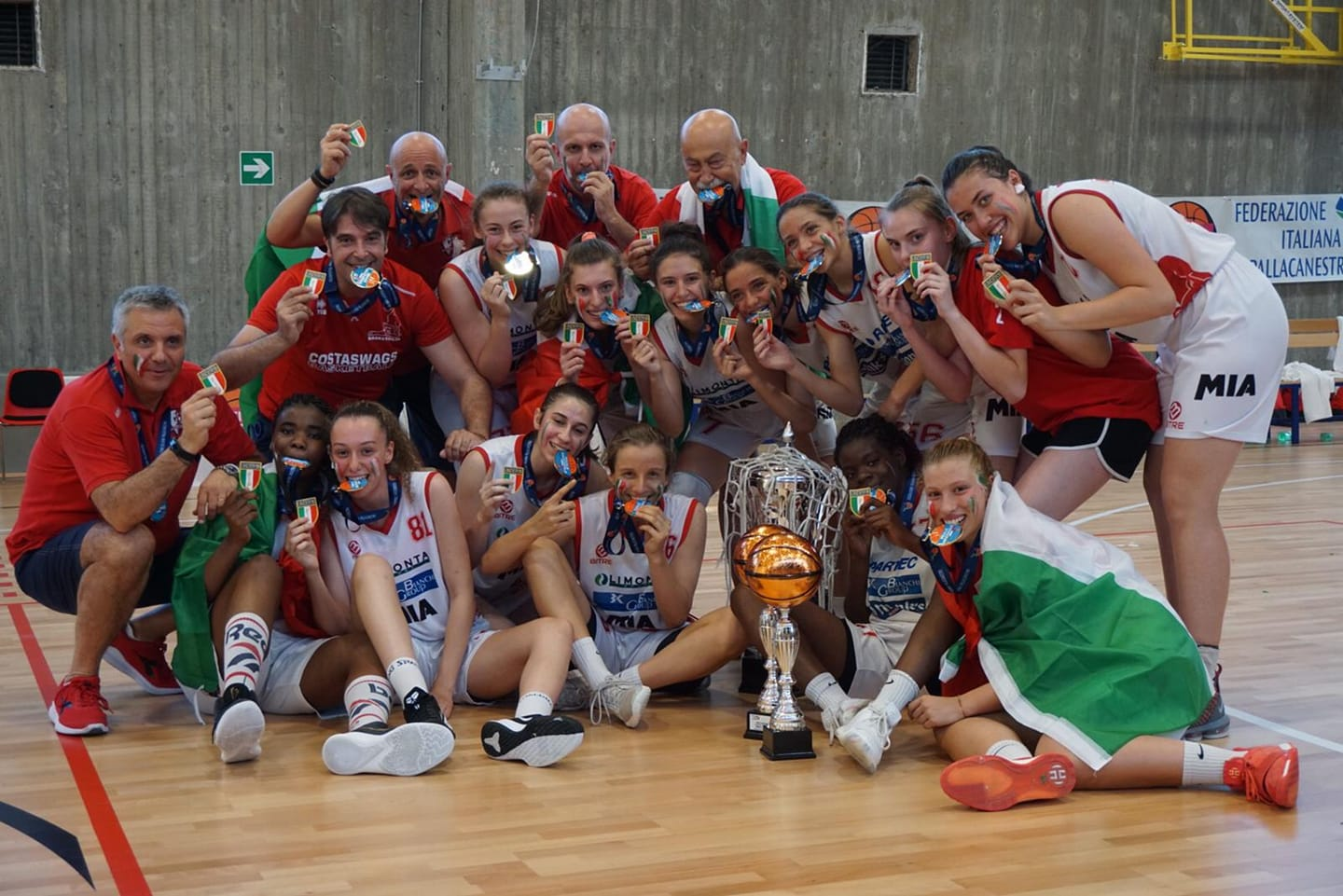 Scudetto Under 1 Basket Costa